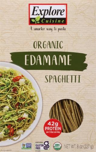 Explore Cuisine Organic Edamame Spaghetti Perspective: front