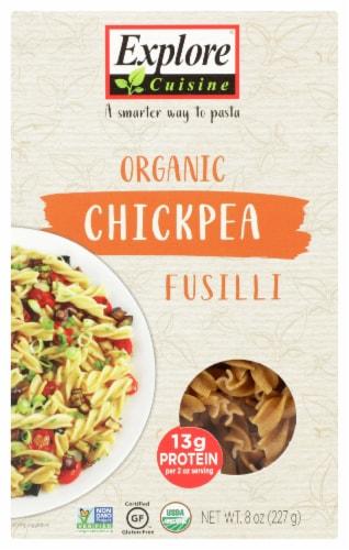 Explore Cuisine Organic Chickpea Fusilli Perspective: front