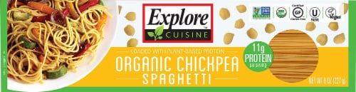 Explore Cuisine Organic Chickpea Spaghetti Perspective: front
