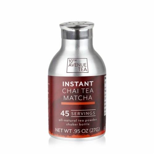 10th Avenue Tea Instant Chai Tea Matcha Perspective: front