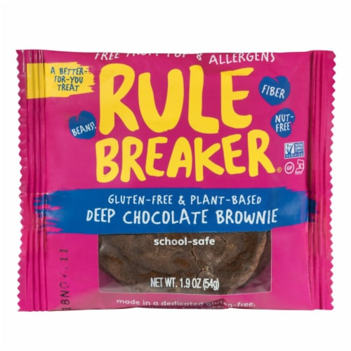 Rule Breaker Deep Chocolate Brownie Perspective: front
