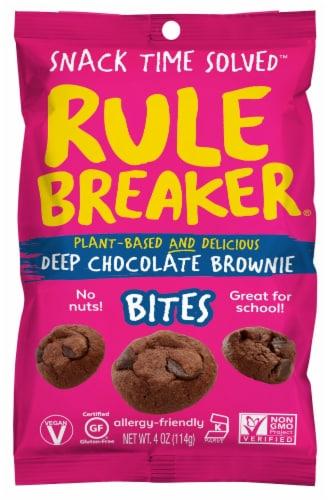 Rule Breaker Deep Chocolate Brownie Bites Perspective: front