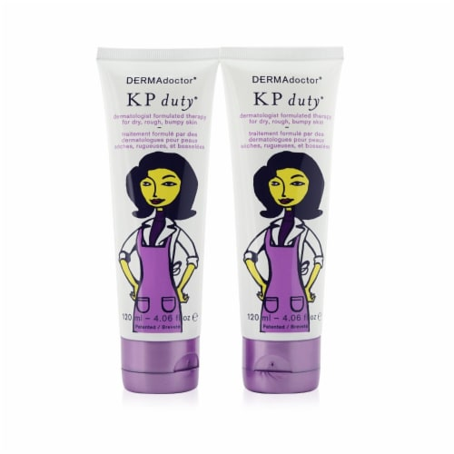 KP Double Duty Dermatologist AHA Moisturizing Therapy Perspective: front