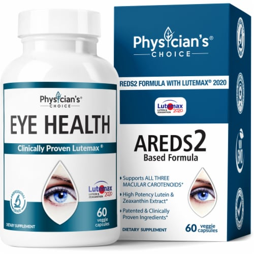 Physician's Choice Eye Health Dietary Supplement Perspective: front