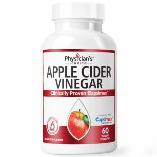 Physician's Choice Apple Cider Vinegar Capsules Perspective: front