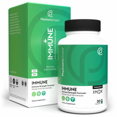 Physician's Choice Immune Premium Supplement Capsules Perspective: front