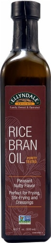 NOW Foods  Ellyndale Naturals™ Rice Bran Oil Perspective: front