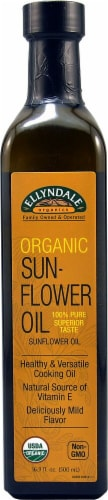 NOW Foods  Ellyndale Organics Sunflower Oil Perspective: front
