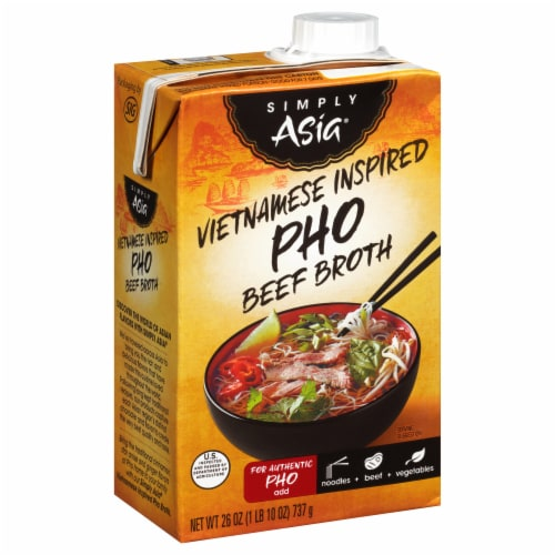 Simply Asia Vietnamese Inspired Pho Beef Broth Perspective: front