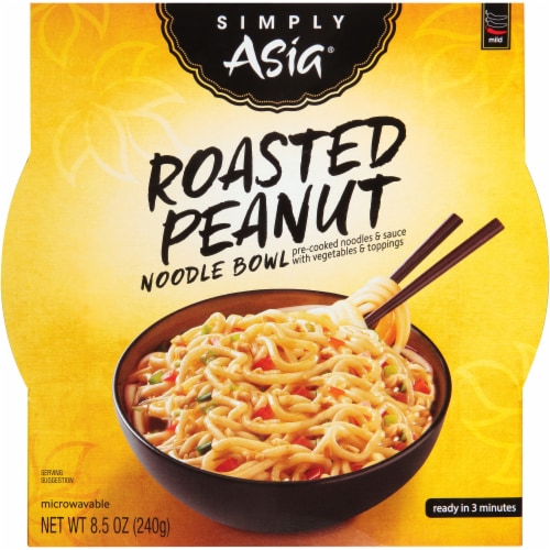 Simply Asia Roasted Peanut Noodle Bowl Perspective: front
