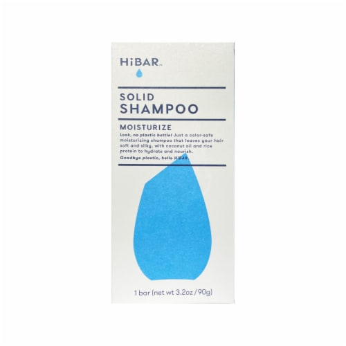 HiBAR™ Moisturize Solid Shampoo Perspective: front
