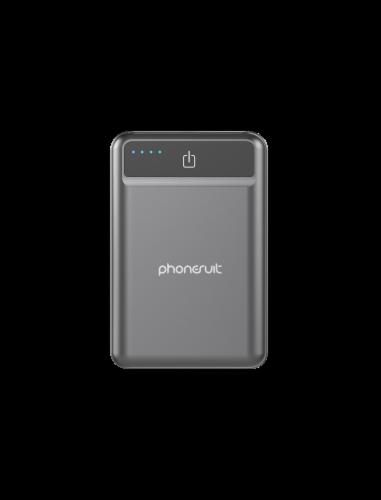 PhoneSuit Energy Core Studio Power Pack - Gray Perspective: front
