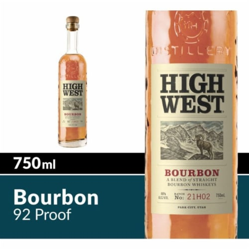 High West American Prairie Bourbon Whiskey Perspective: front