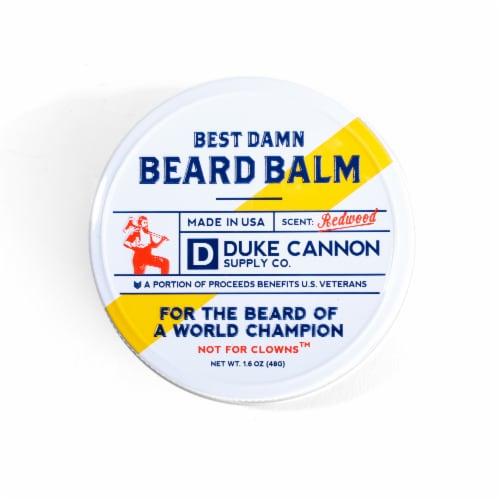 Duke Cannon Best Damn Beard Balm Perspective: front