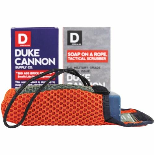 Duke Cannon Tactical Scrubber and Soap Bundle 03TACTBUNDLE Perspective: front