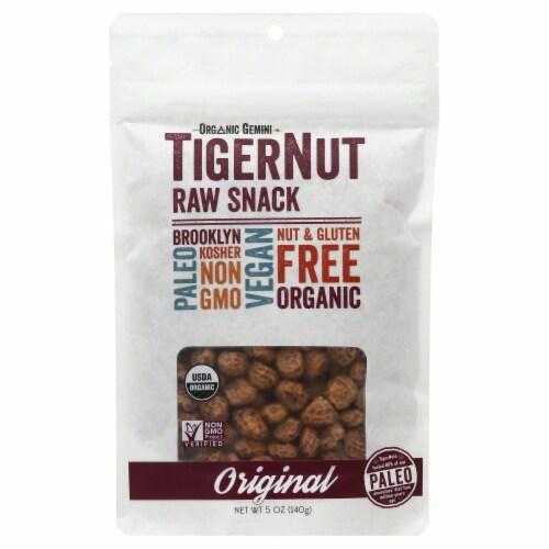 Organic Gemini  TigerNut Raw Snack  Original Perspective: front