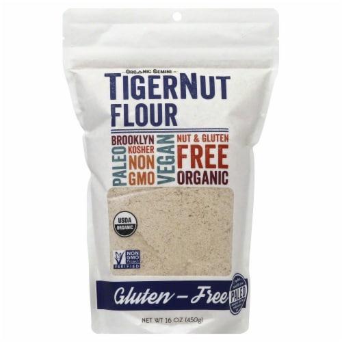 Organic Gemini Tigernut Flour Perspective: front