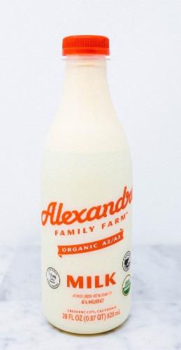Alexandre Family Farm Organic A2/A2 Milk Perspective: front
