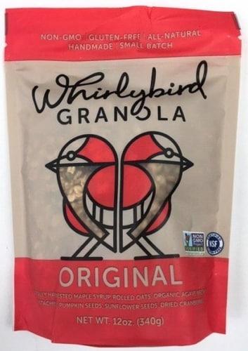 Whirlybird Original Granola Perspective: front