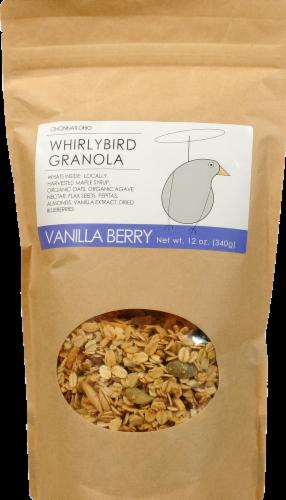 Whirlybird Vanilla Berry Granola Perspective: front