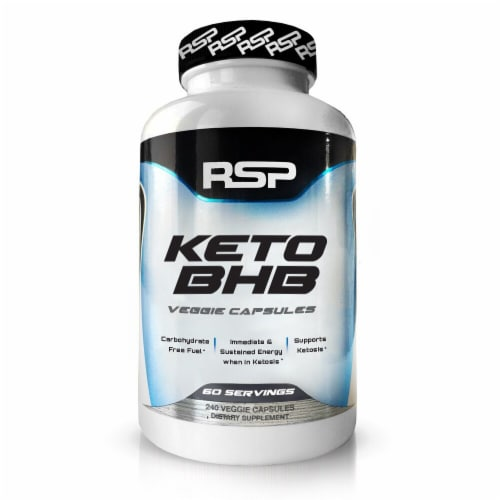 RSPNutrition  Keto BHB Veggie Capsules Perspective: front