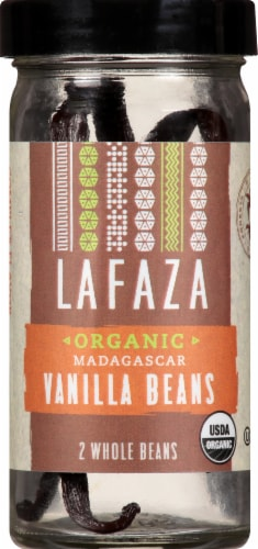 LAFAZA Organic Madagascar Vanilla Beans Perspective: front
