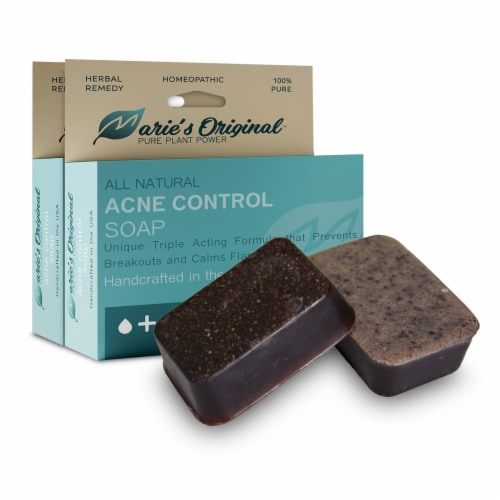 Marie's Original Acne Control Soap Perspective: front