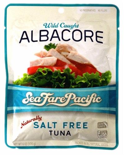 Sea Fare Pacific Salt Free Albacore Tuna Perspective: front