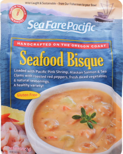 Sea Fare Pacific Seafood Bisque Perspective: front