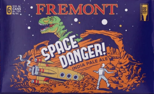 Fremont Space Danger! India Pale Ale Beer Perspective: front