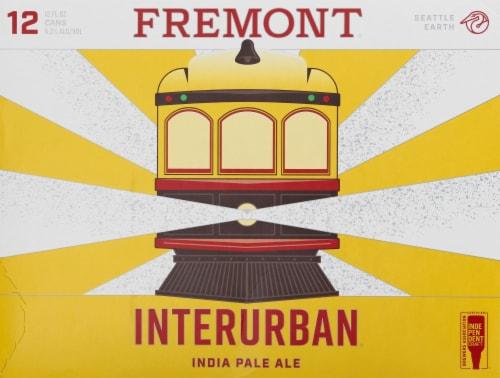 Fremont Interurban IPA Beer Perspective: front
