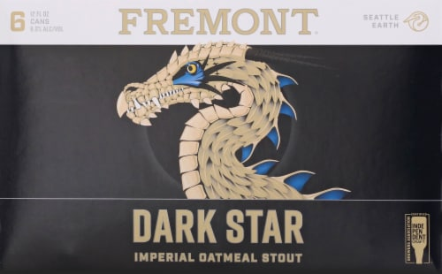 Fremont Dark Star Imperial Oatmeal Stout Perspective: front