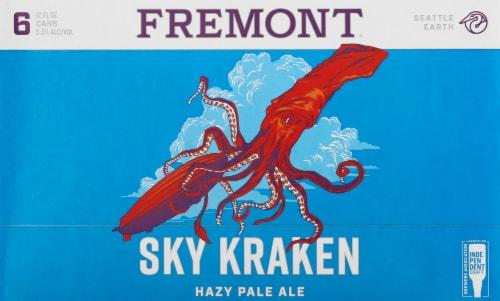 Fremont Sky Kraken Hazy Pale Ale Perspective: front