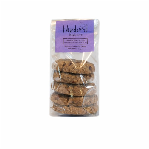 Bluebird Bakers Oatmeal Cookies Perspective: front