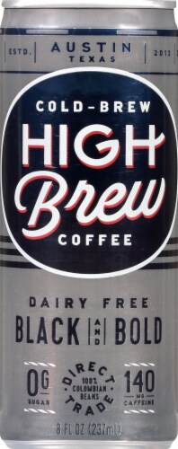 High Brew Black & Bold Coffee Perspective: front