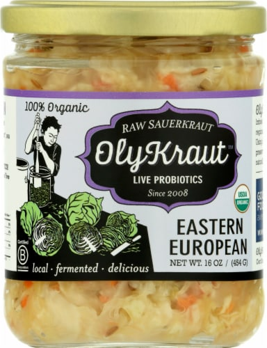 OlyKraut Eastern European Raw Sauerkraut Perspective: front