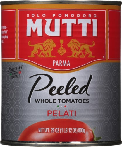 Mutti Peeled Whole Tomatoes Perspective: front
