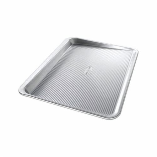 USA Pans Cookie Sheet - Steel Perspective: front