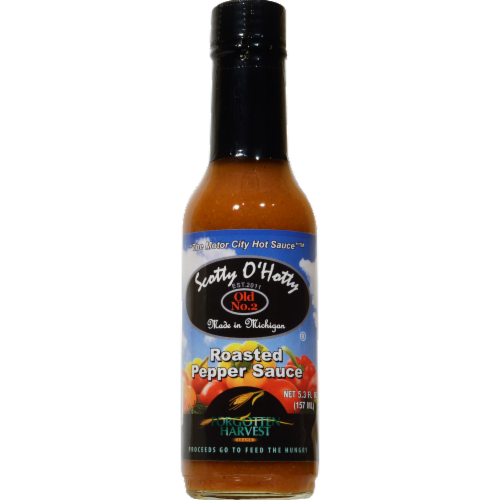 Scotty O'Hotty Roasted Pepper Sauce Perspective: front