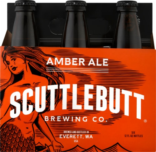 Scuttlebutt Amber Ale Beer Perspective: front