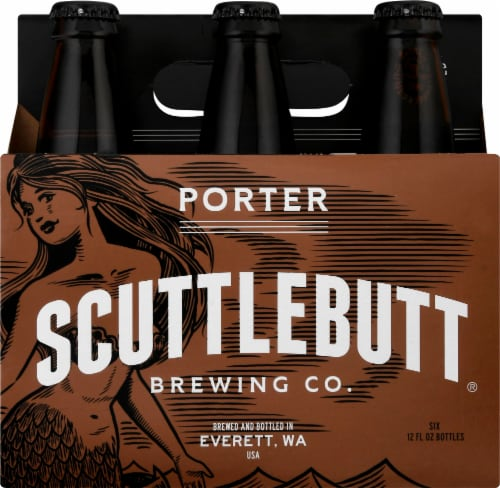 Scuttlebutt Porter Beer Perspective: front
