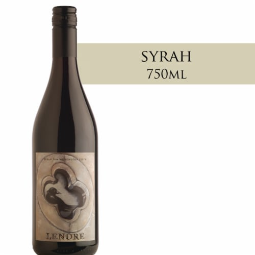 Corvidae Lenore Syrah Red Wine Perspective: front