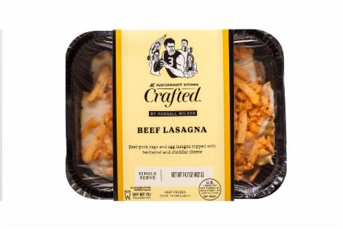 Eat Local Beef Lasagna Frozen Meal Perspective: front