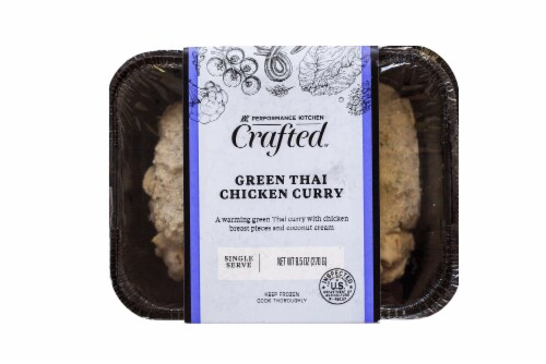 Performance Kitchen Crafted Green Thai Chicken Curry Perspective: front