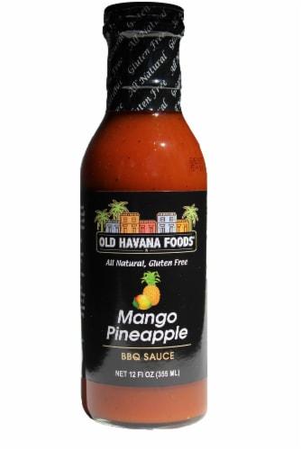 Old Havana Foods Mango Pineapple BBQ Sauce Perspective: front