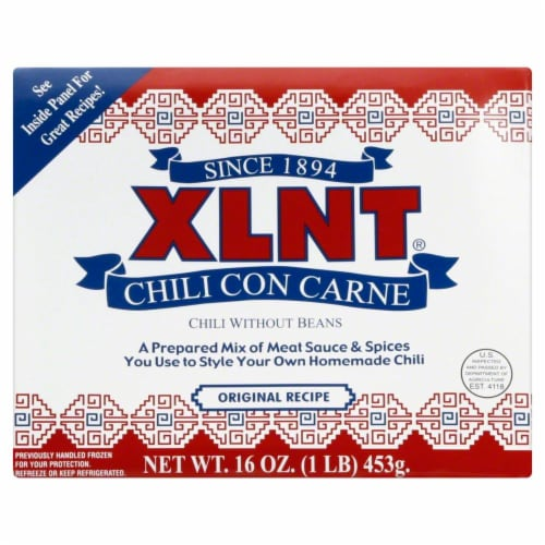 XLNT Chili Con Carne Without Beans Perspective: front