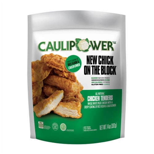 Caulipower New Chick on the Block All Natural Chicken Tenders Perspective: front
