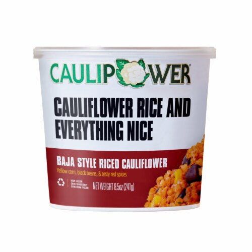 Caulipower Baja Style Riced Cauliflower Cup Perspective: front