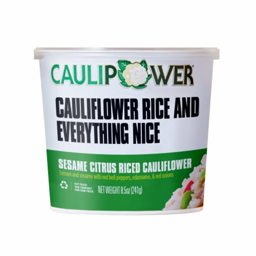 Caulipower Sesame Citrus Riced Cauliflower Cup Perspective: front