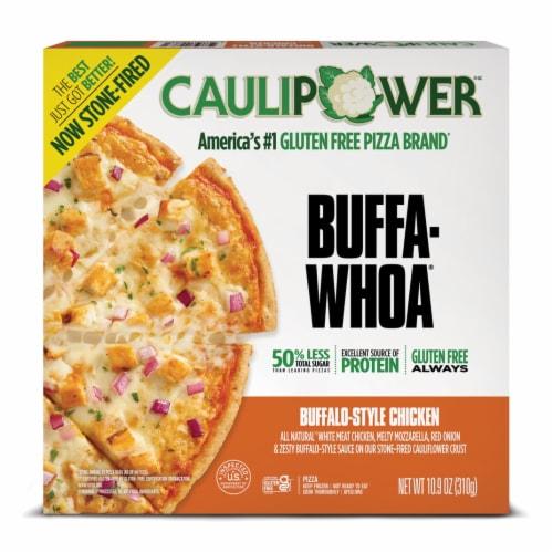 Caulipower Buffa-Whoa Cauliflower Crust Buffalo-Style Chicken Pizza Perspective: front